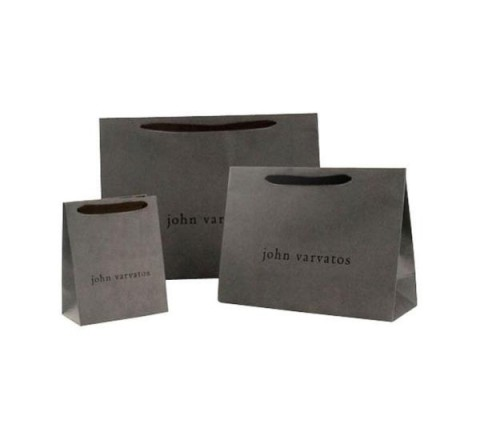 Cardboard Gift Bag with Ribbon Handle