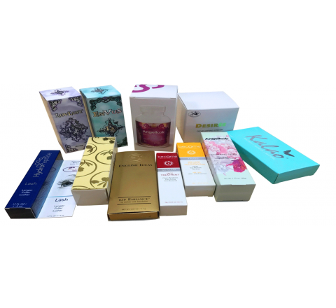 Cosmetic Boxes with Reverse UV Printing