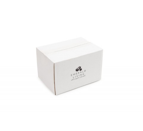 Lid-off Gift Box with Plastic Gemstone